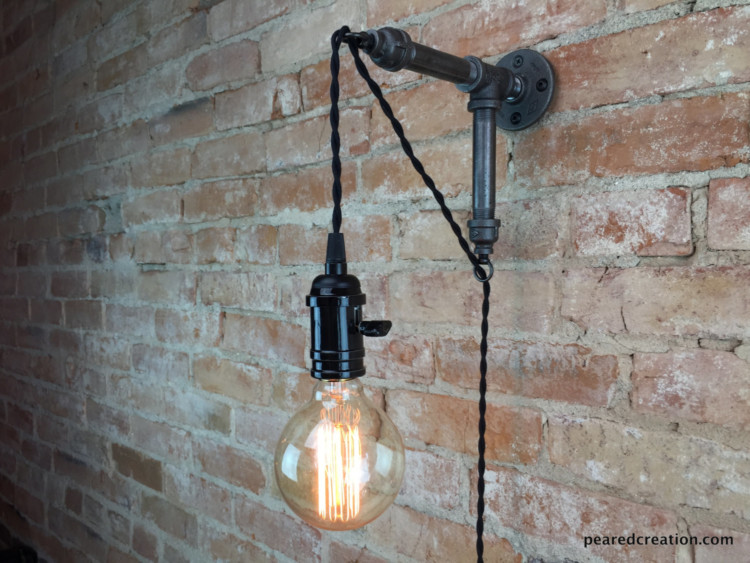 Industrial Hanging Edison Wall Sconce 9 - Wall Lamps & Sconces - iD Lights