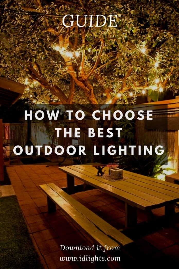 How to choose the best outdoor lighting for your patio id lights aloadofball Choice Image