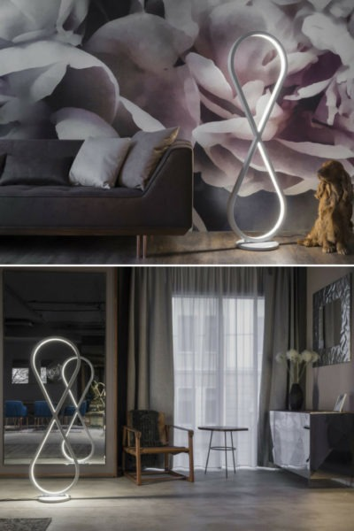 Infinity Modern Design Floor Lamp