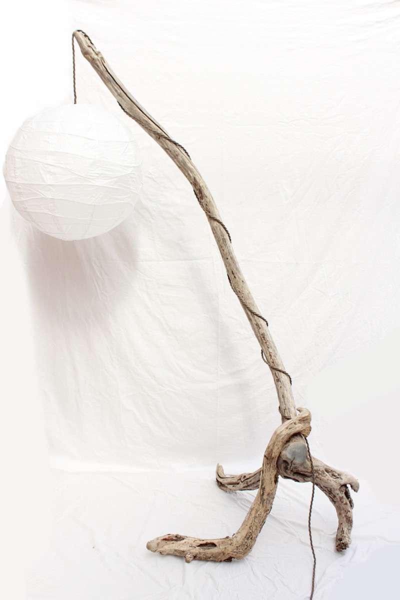 Driftwood Branch Floor Lamp - floor-lamps