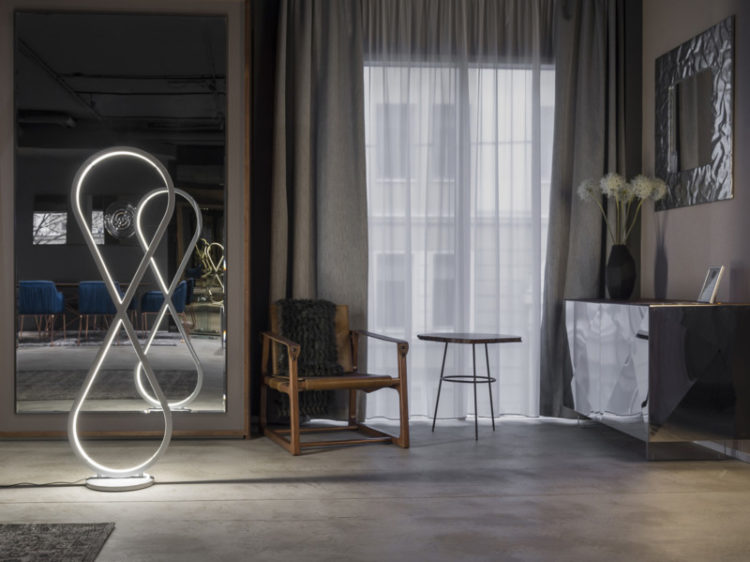 Infinity Modern Design Floor Lamp - floor-lamps
