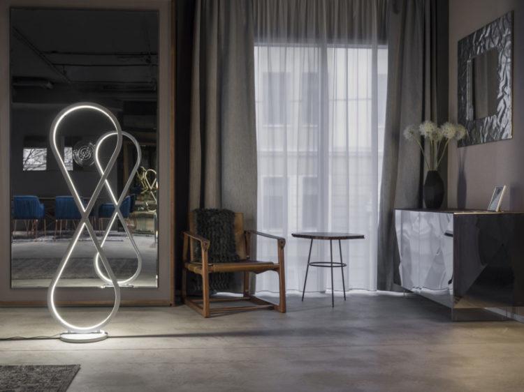 Infinity Modern Design Floor Lamp - floor-lamps