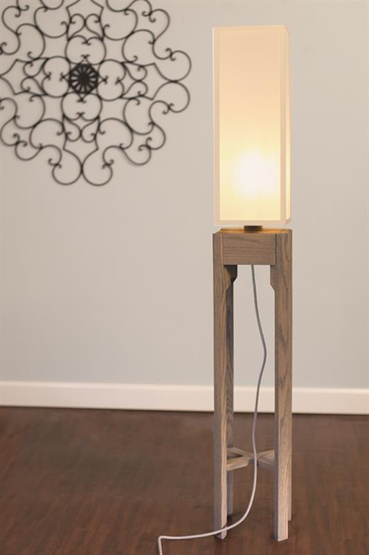Wooden Floor Lamp Project Designer