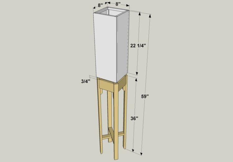 Wooden Floor Lamp Project Designer - floor-lamps