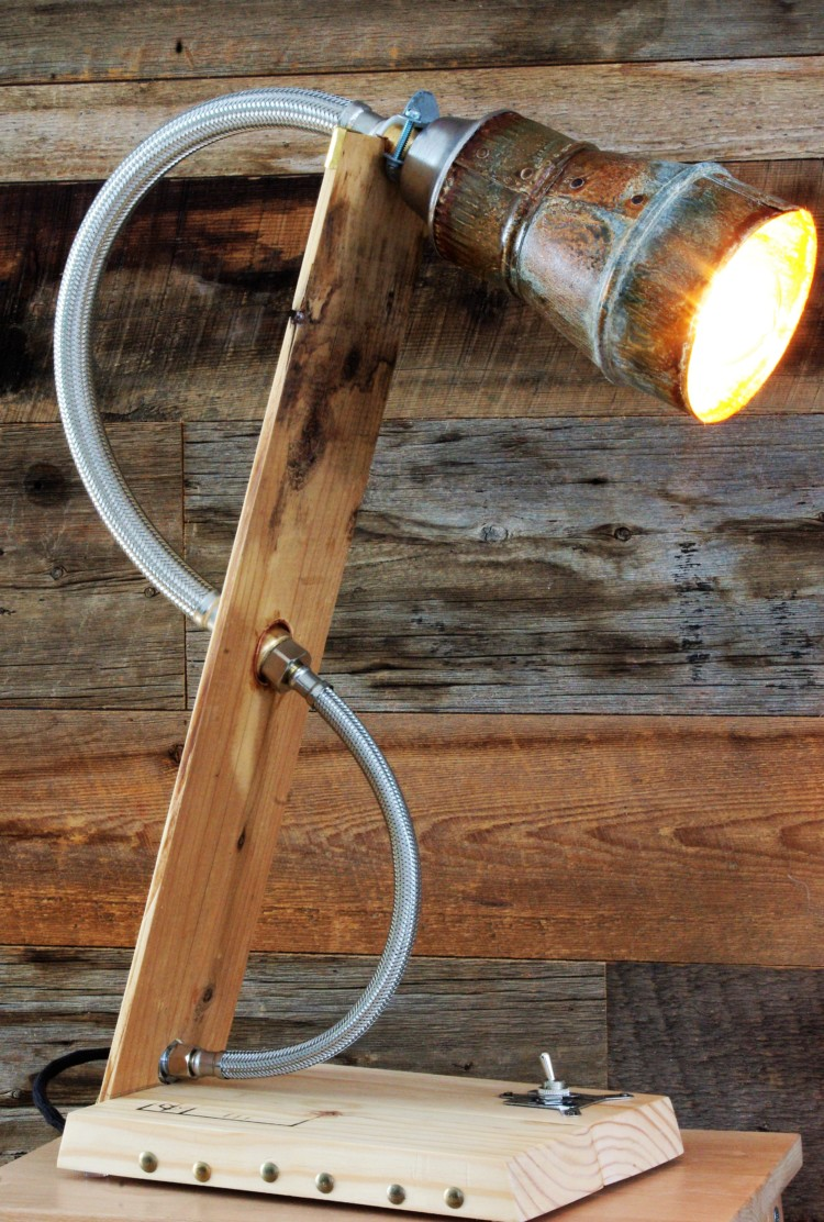 Amazing industrial style - desk-lamps