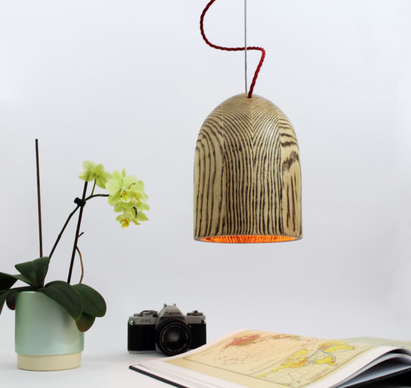 Wooden Pendant Lamp Shade 1 - Wood Lamps - iD Lights