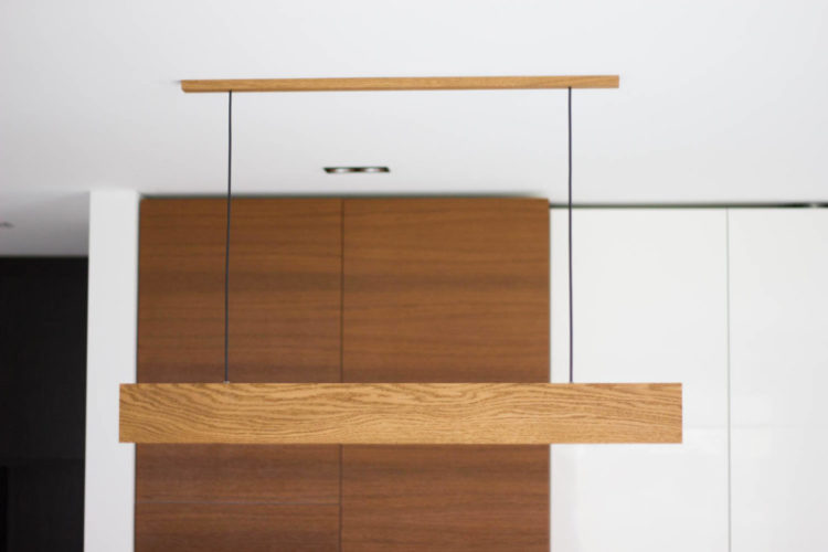 Modern LED Pendant Light - wood-lamps, pendant-lighting