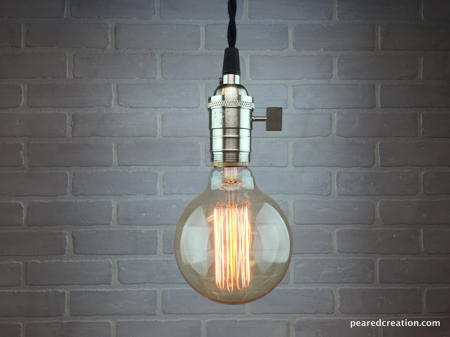 Bare Bulb Pendant Lamp - pendant-lighting