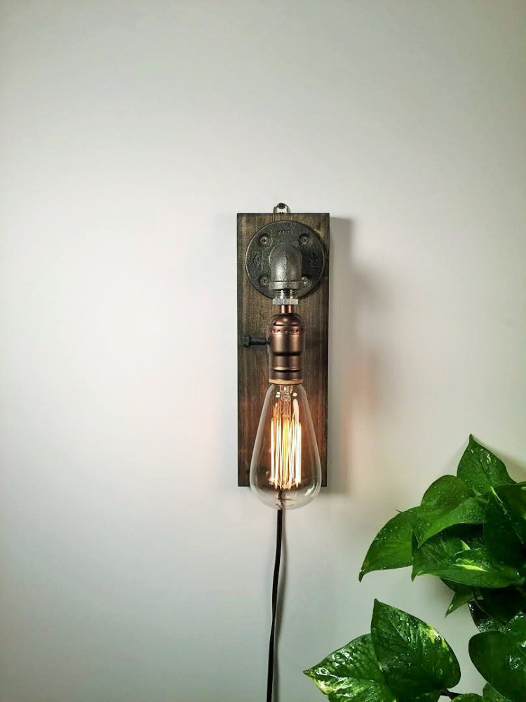 Rustic Sconce Wall Lamp 3 - Wall Lamps & Sconces - iD Lights