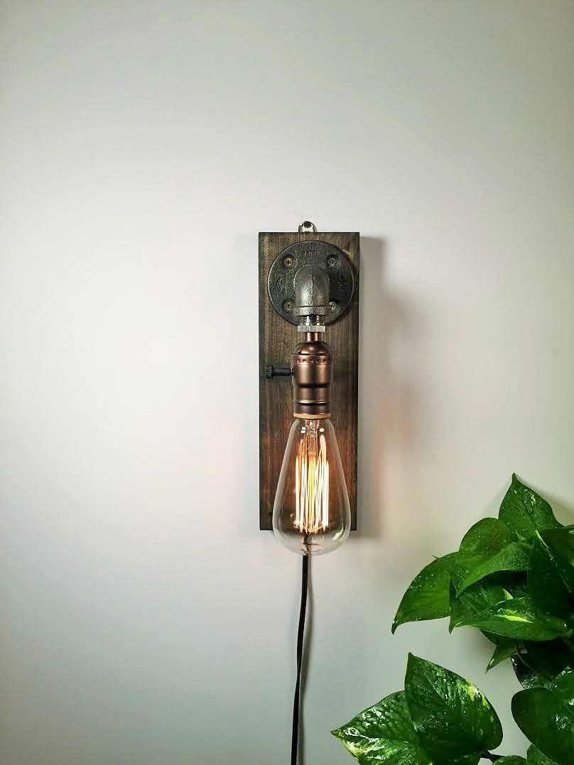 Rustic Sconce Wall Lamp 1 - Wall Lamps & Sconces - iD Lights