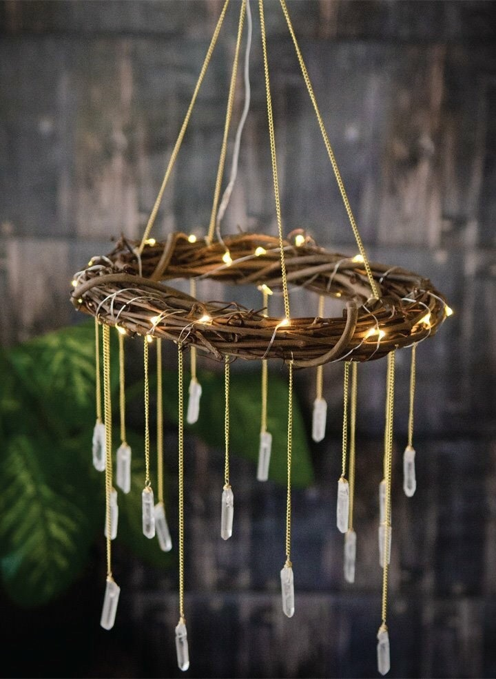 Bohemian Mobile Rustic Chandelier 4 - Ceiling Lights - iD Lights