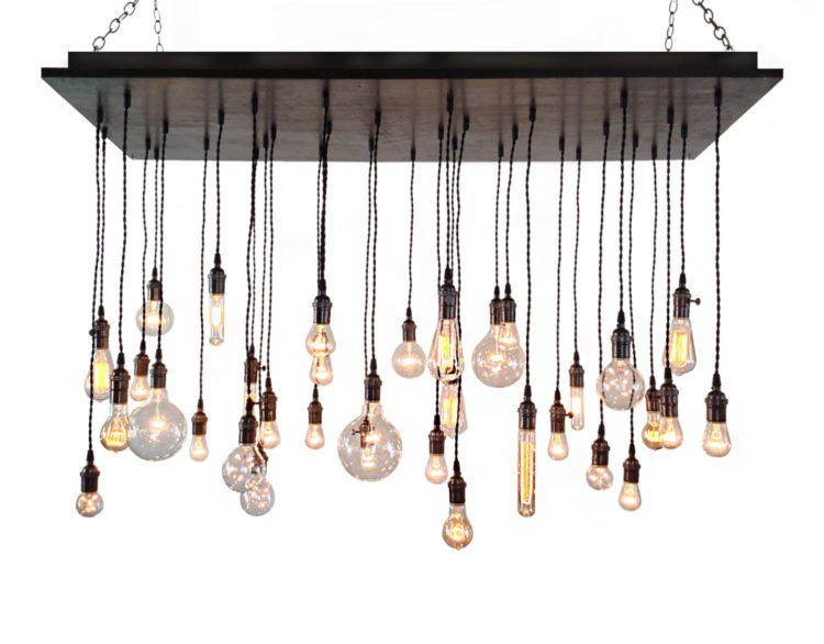 Over-sized Rustic Style Chandelier 6 - Chandeliers - iD Lights