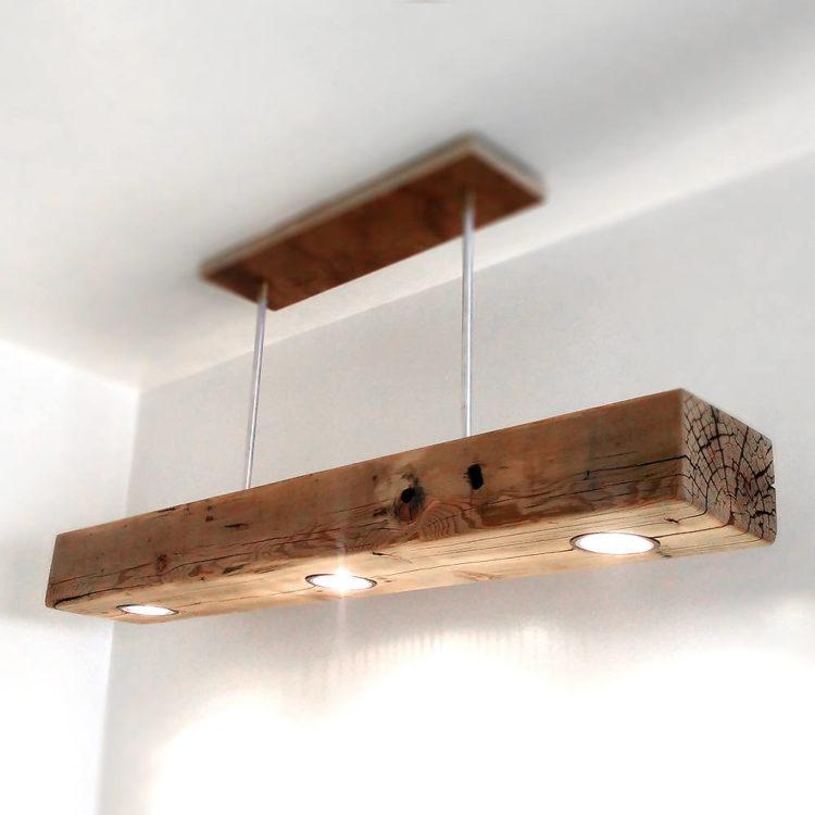 Reclaimed Wood Beam Spot Led Light Fixture Id Lights