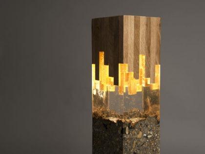 Wood Amp Resin Lamp Id Lights