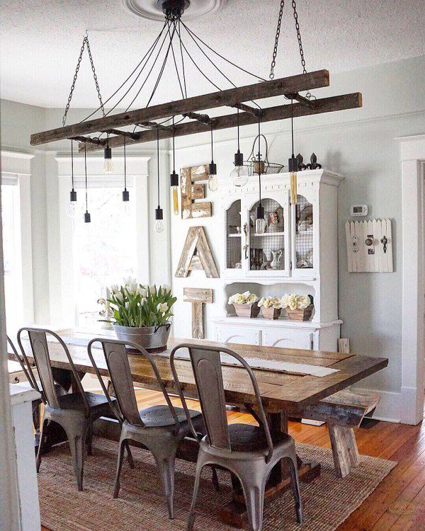 23 Dining Room Chandelier Designs Decorating Ideas: 16 Best Ladder Light Fixtures & Chandeliers DIY Ideas