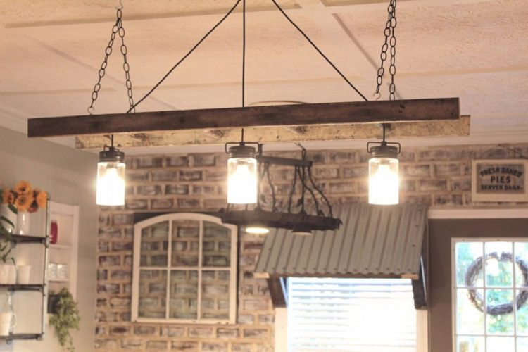 16 Best Ladder Light Fixtures Amp Chandeliers Diy Ideas Id Lights