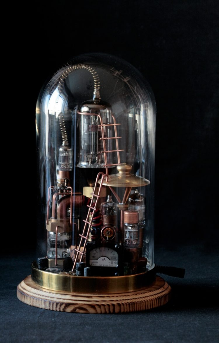 Pure Steampunk lamp Benjamin 4 - Desk Lamps - iD Lights