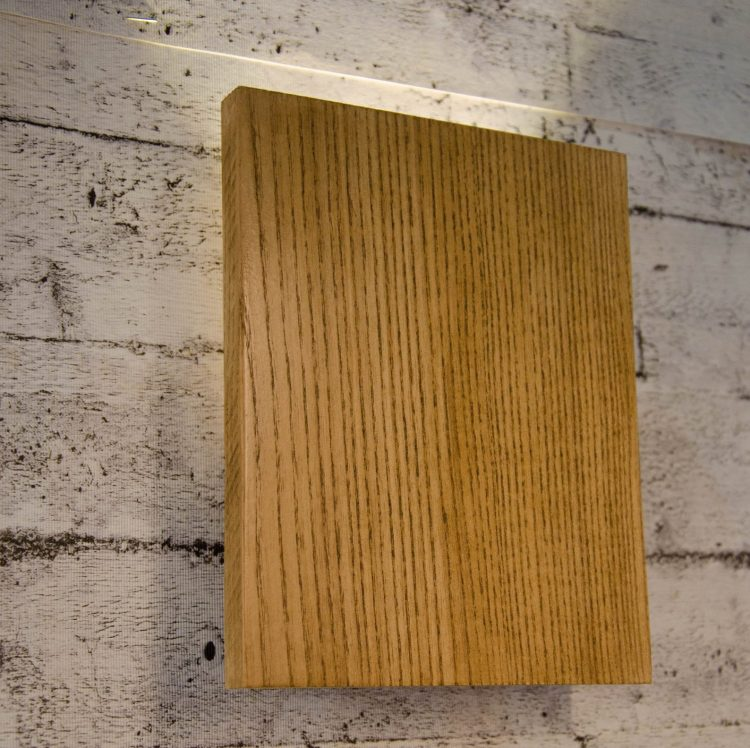 Wooden Sconce lamp Vela Board