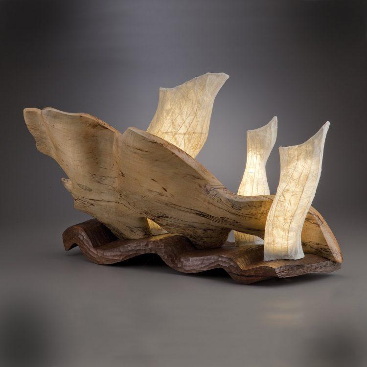 Light Wood Sculpture