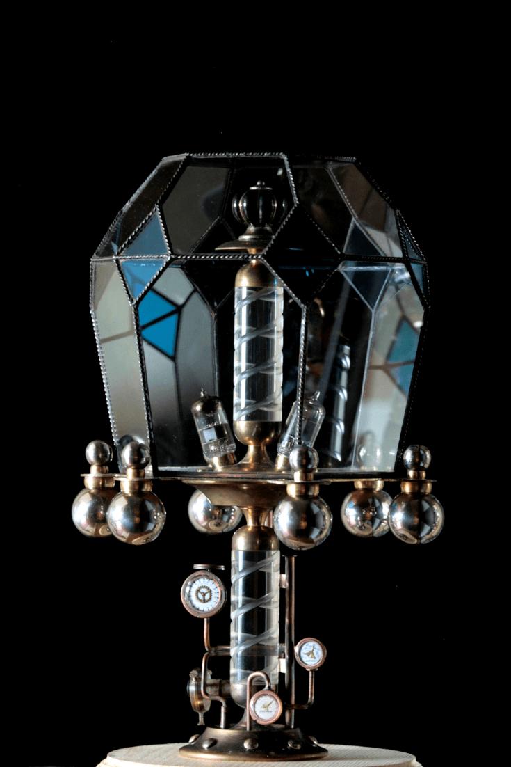 Steampunk lamp Asperitas 1 - Table Lamps - iD Lights