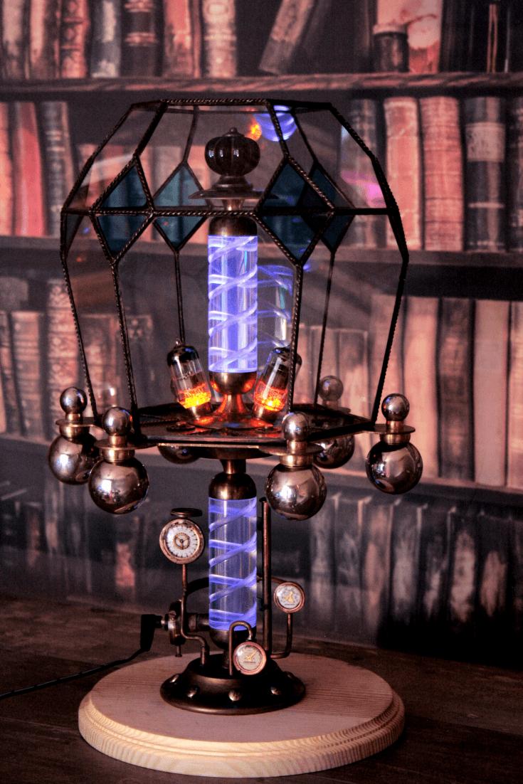 Steampunk lamp Asperitas 3 - Table Lamps - iD Lights