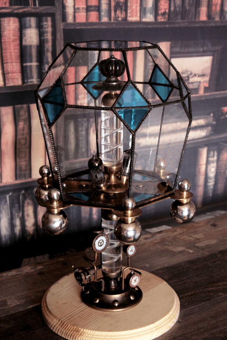 Steampunk lamp Asperitas 2 - Table Lamps - iD Lights