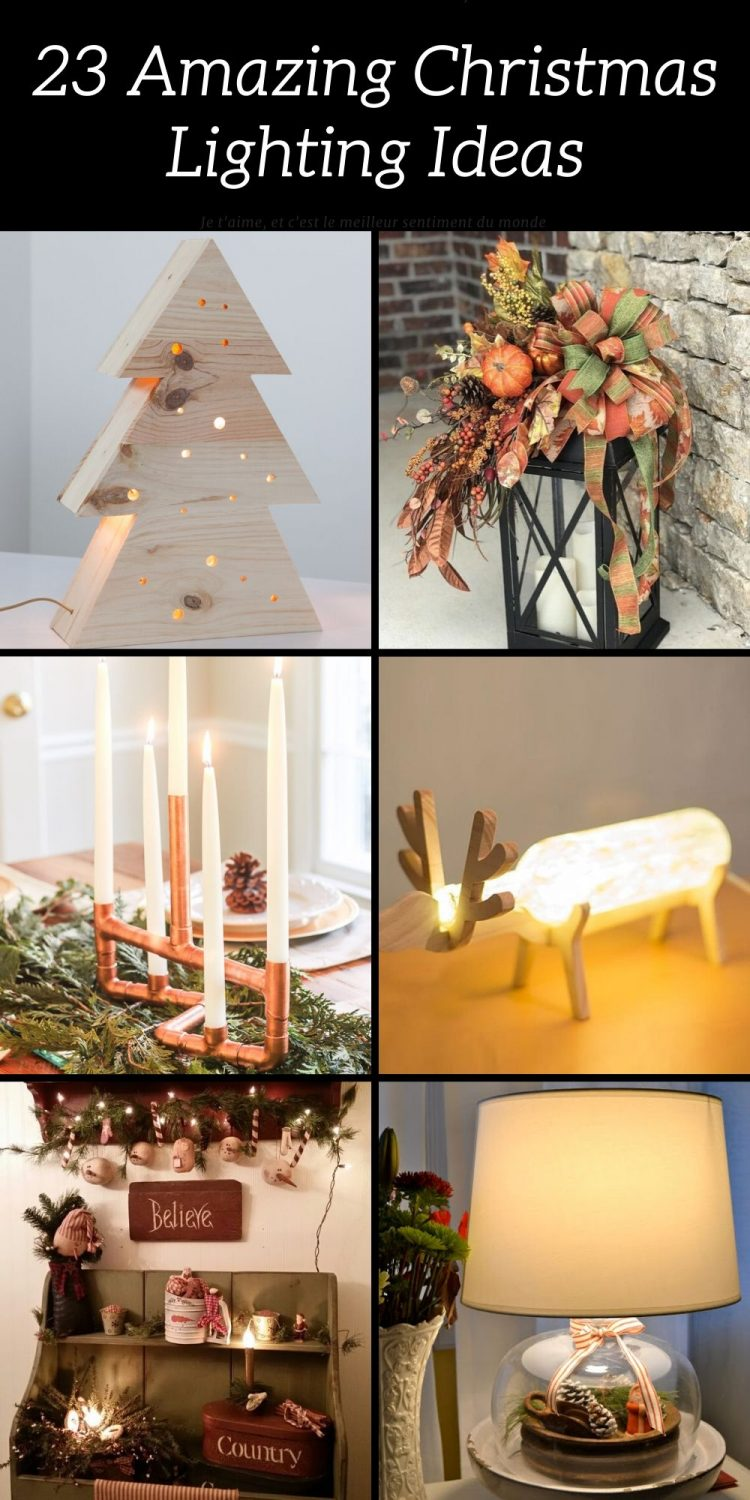 23 Christmas Lighting Ideas