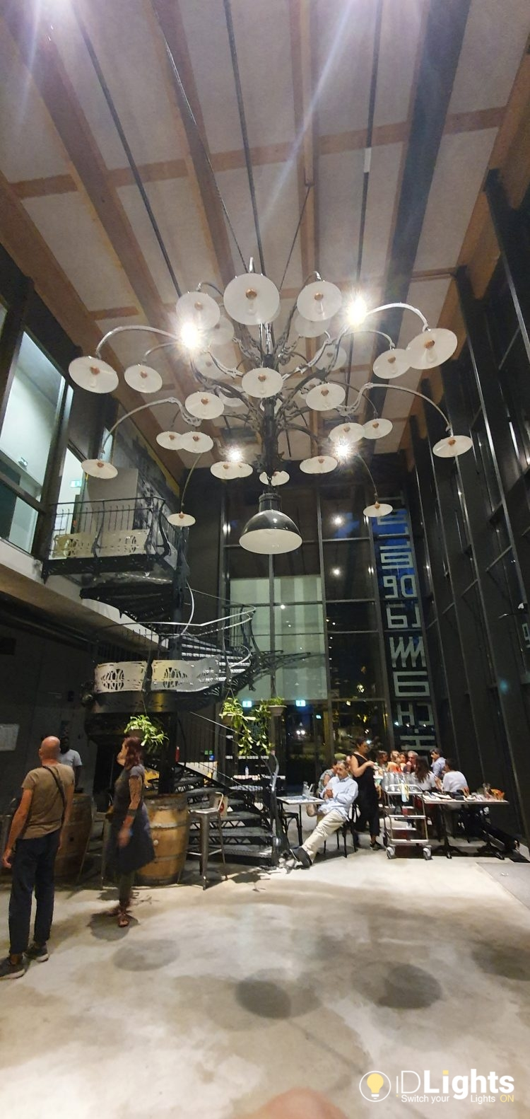 Great Huge Pendant from La Machine Toulouse 1 - Pendant Lighting - iD Lights