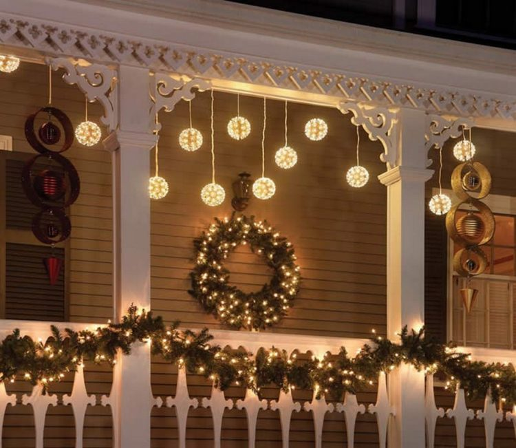 Outdoor Christmas Decorations Lights