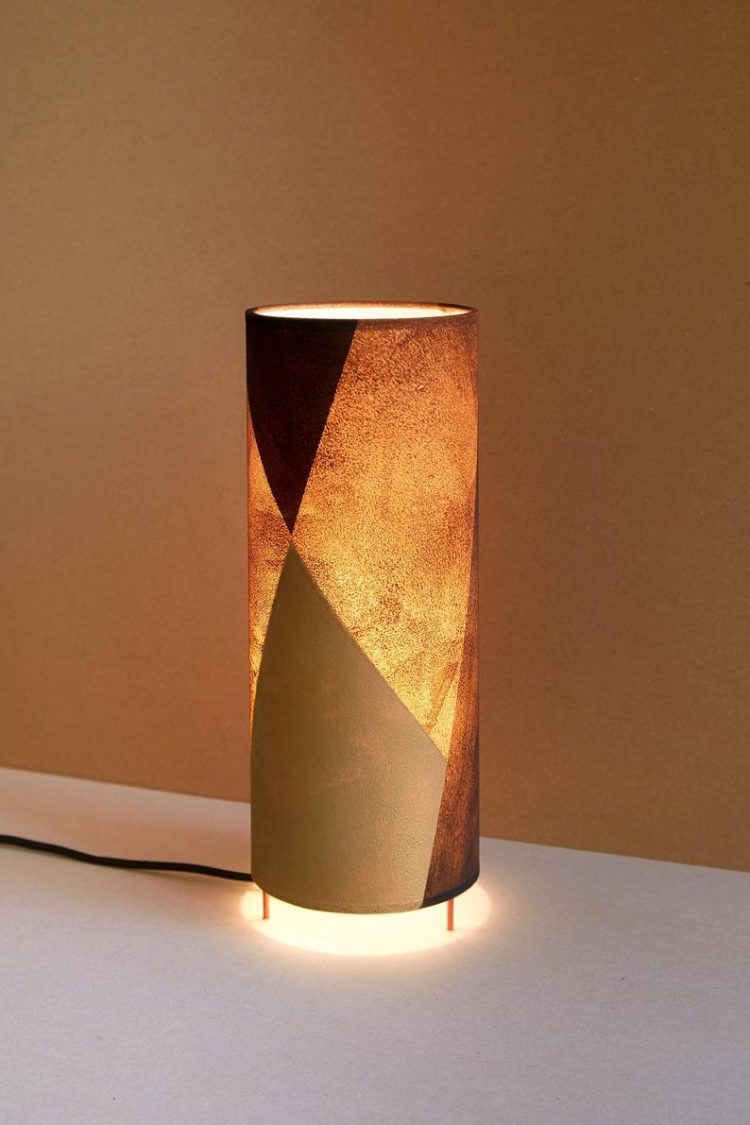 Table lamp tube, table lamp mid century, table lamp MUTTER,