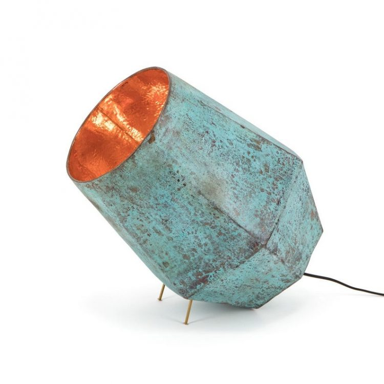 TISJAlighting oxidized copper floorspot