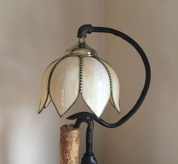 Turnbuckle Wood Table Lamp