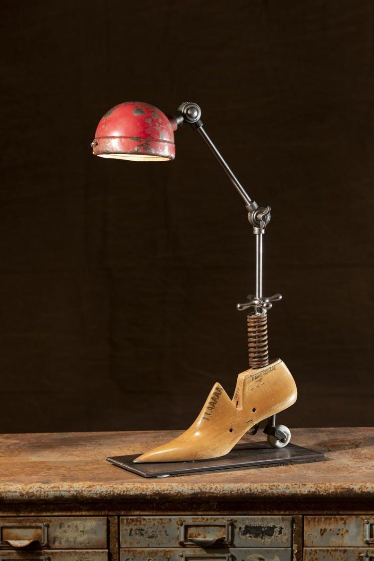 Heely Industrial Lamp 4 - Table Lamps - iD Lights