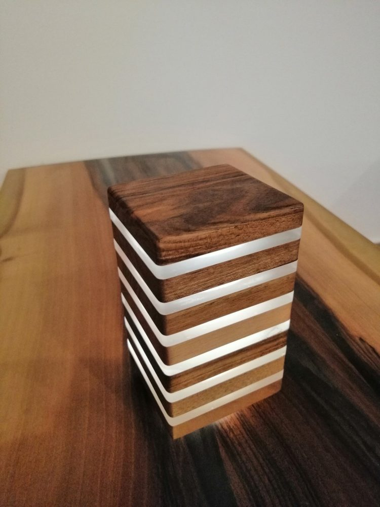 Wooden Night Lamp 2 - Table Lamps - iD Lights