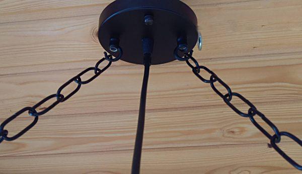 Handmade Beam Chandelier 9 - iD Lights