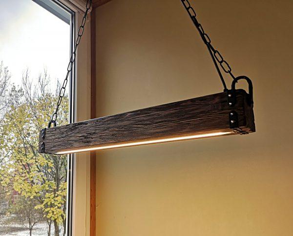 Wood Beam LED Pendant Light 5 - iD Lights