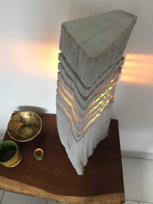 Fragmented wood log lamp 3 - iD Lights