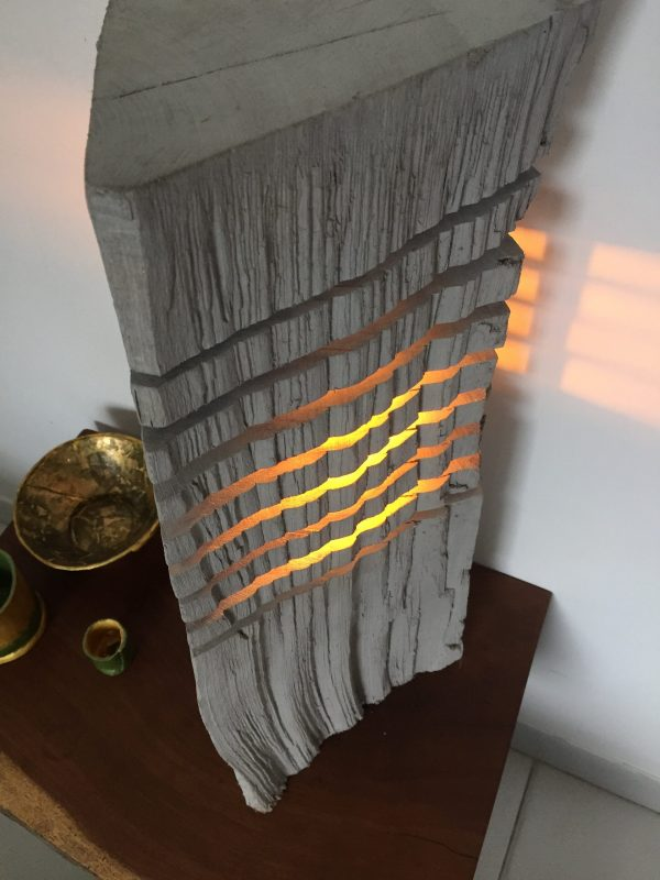 Fragmented wood log lamp 1 - iD Lights