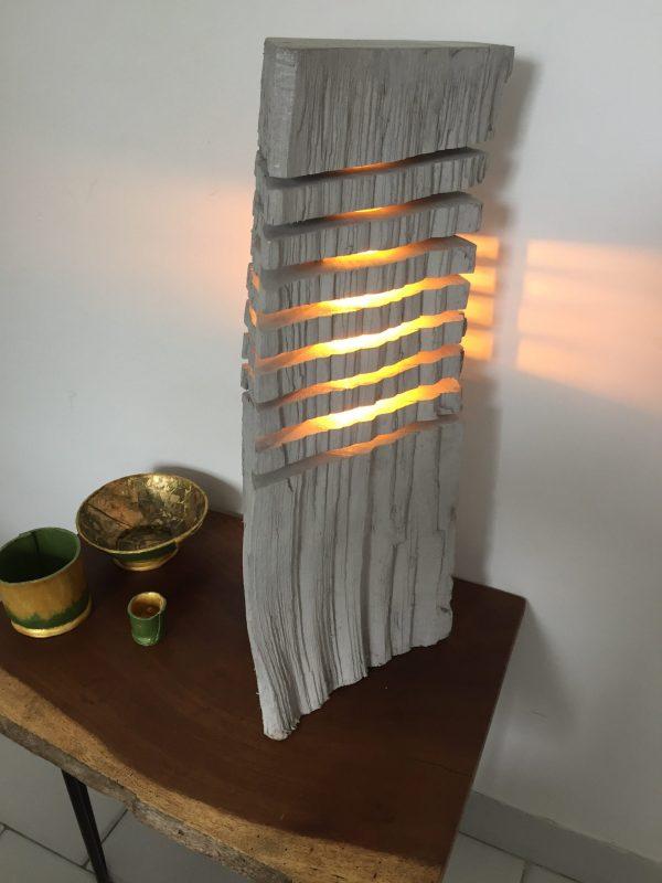 Fragmented wood log lamp 2 - iD Lights