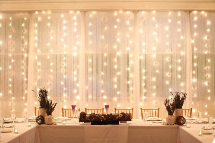 LED Window Curtain Lights