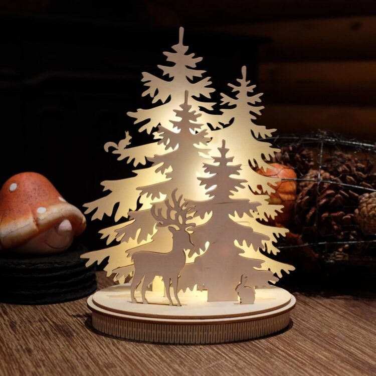 Woodland Winter Christmas Decoration