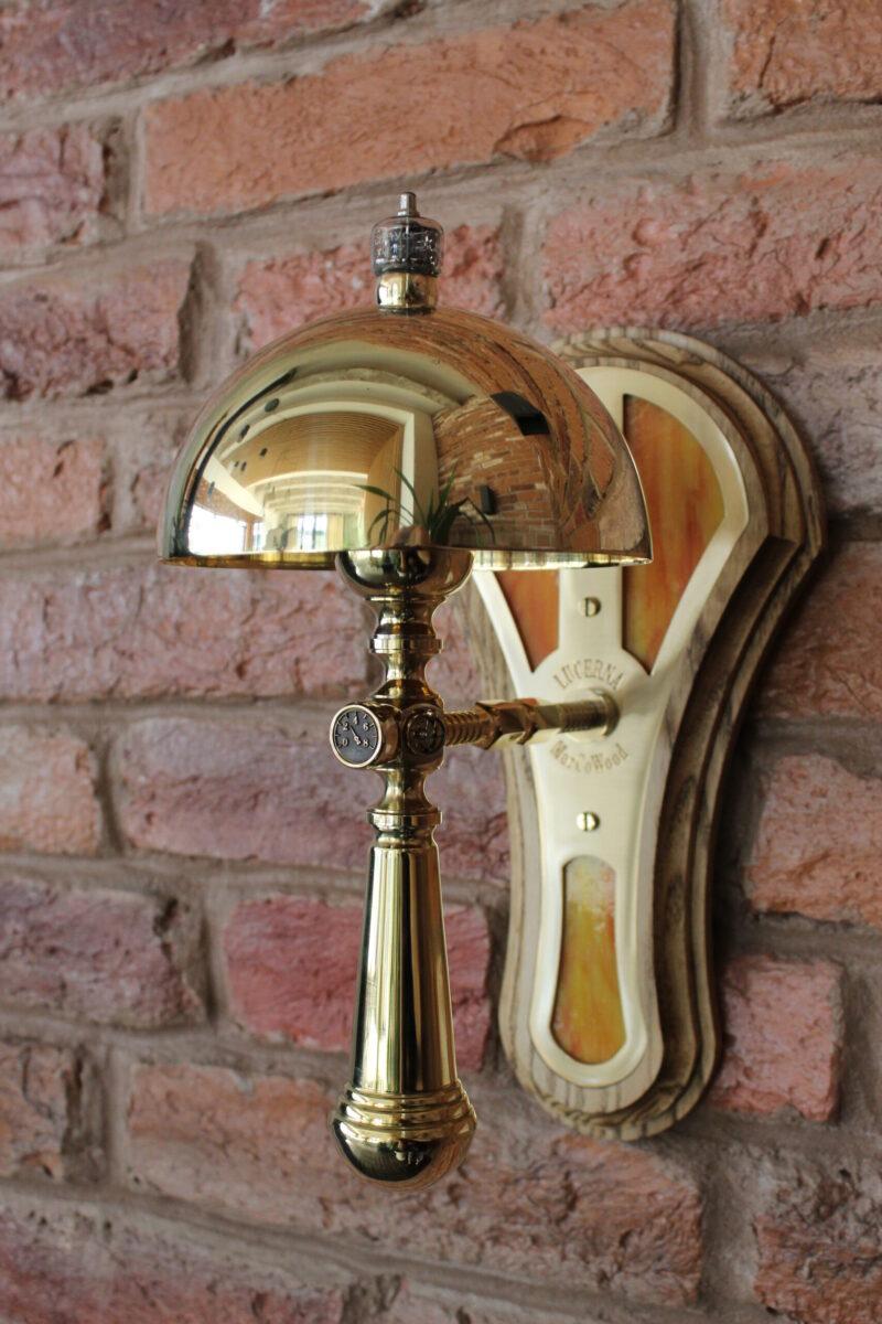 Steampunk lamp Galileo 1 - handmadelighting - iD Lights